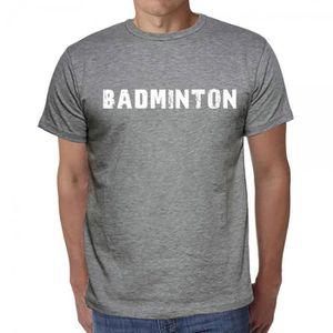 T-SHIRT badminton tshirt homme tshirt avec motif