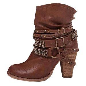 0aa3285d4d59 BOTTINE Bottes De Femme Chaussures Hiver Cheville Boots Ch