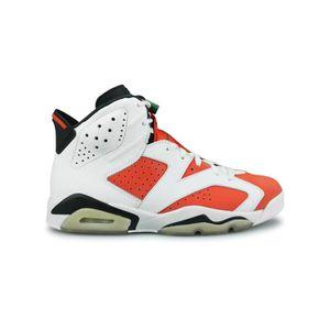 promo code 9aacd 31353 BASKET Basket Air Jordan 6 Retro Gatorade Blanc 384664-14