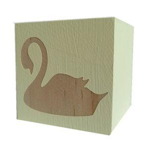 PACK ACCESSOIRES PHOTO Cube de cygne en bois Style nordique Enfants Ornem