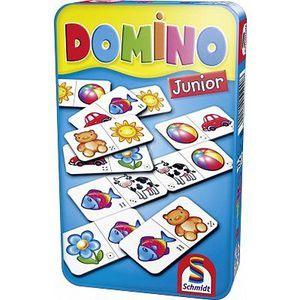 DOMINOS SCHMIDT AND SPIELE Jeu de poche - Domino Junior