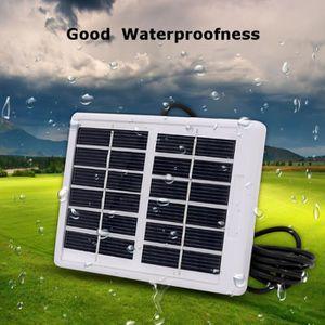 KIT PHOTOVOLTAIQUE TEMPSA Chargeur solaire panneau étanche 6V 1.2W po