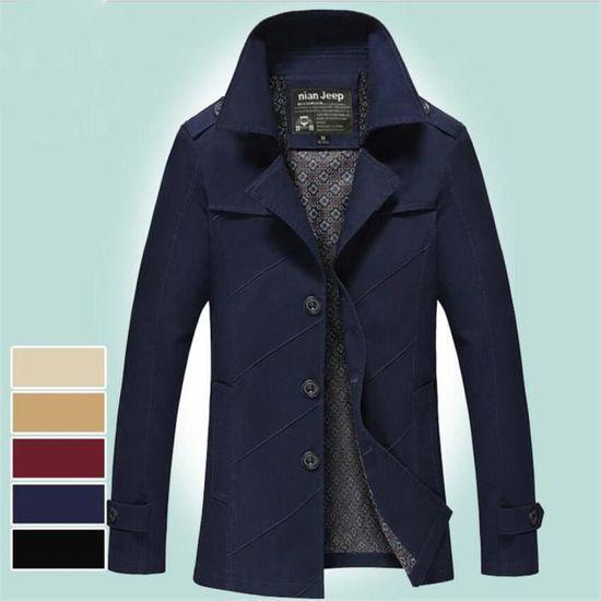 Simple Classique Loisirs Beau Homme Garde Manteau Meilleure Confortable Manteaux Hiver Qualité Nik Vetement Au Mode Nouvelle Chaud TqX4fx
