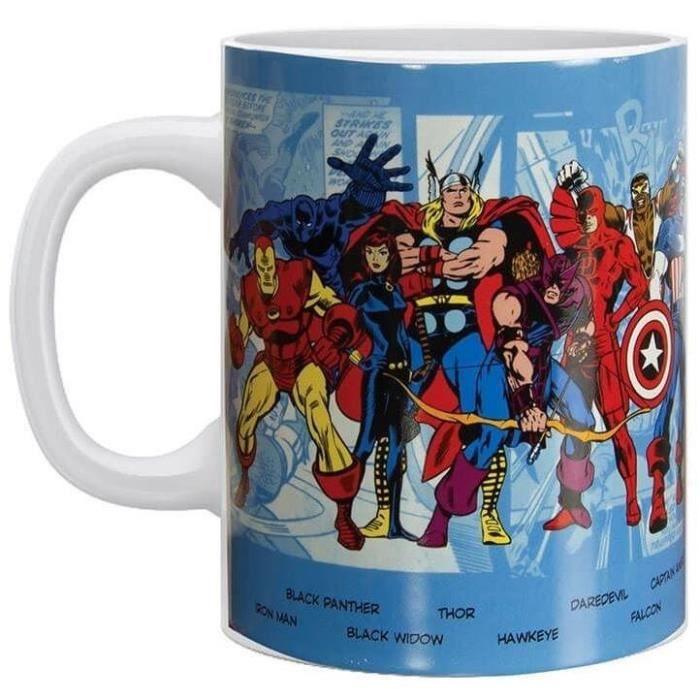 Mug oversized Marvel - Avengers: Personnages