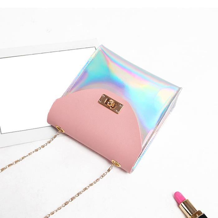hx848 Femmes Coin Messenger Bandoulière Sac Bag Mode À Rose Téléphone 1qfzw6Ax