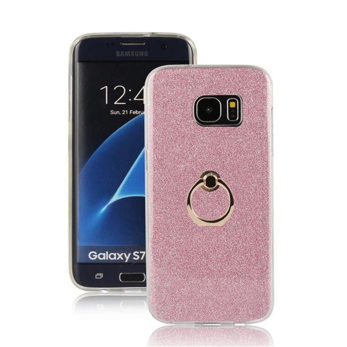 coque galaxy s7 pink