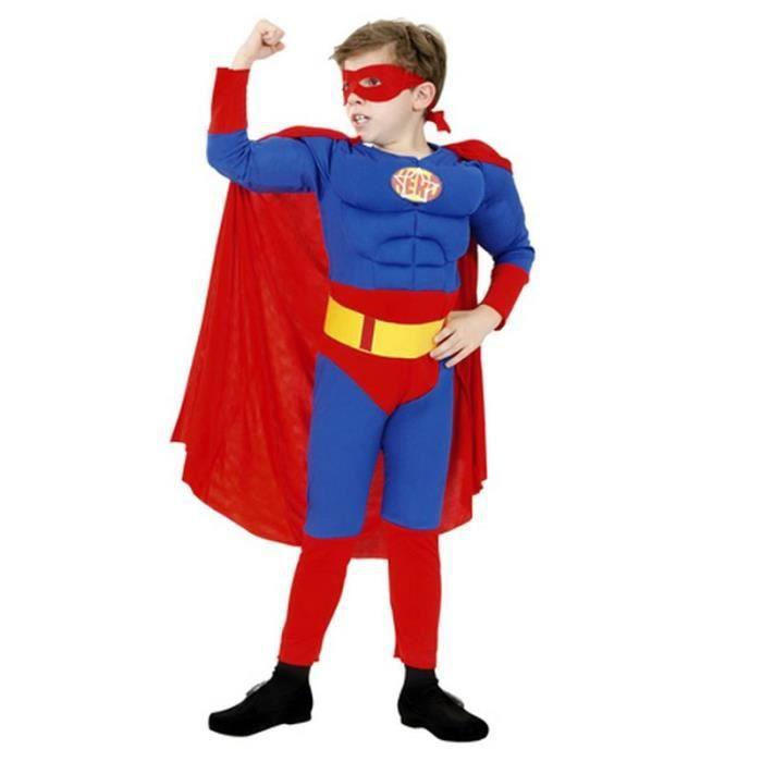 D guisement enfant super h ros taille 10 12 ans achat vente d guisement panoplie cdiscount - Super heros deguisement ...