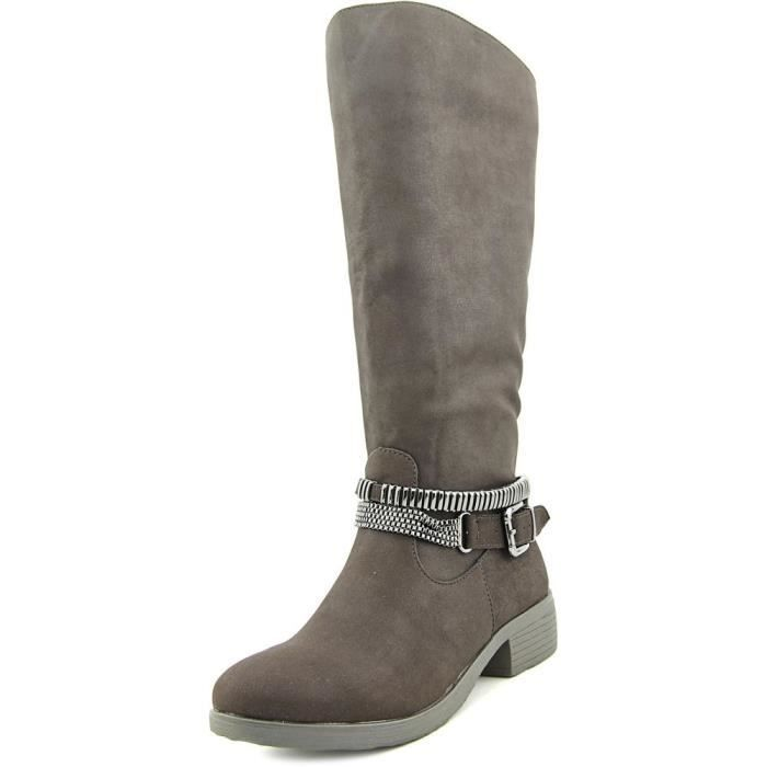 Style & Co Wardd Wide Calf Femmes Synthétique Botte