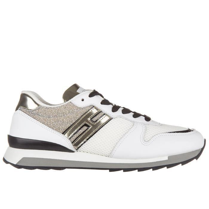 Chaussures baskets sneakers femme en cuir rebel r261 Hogan Rebel 32UdjvE