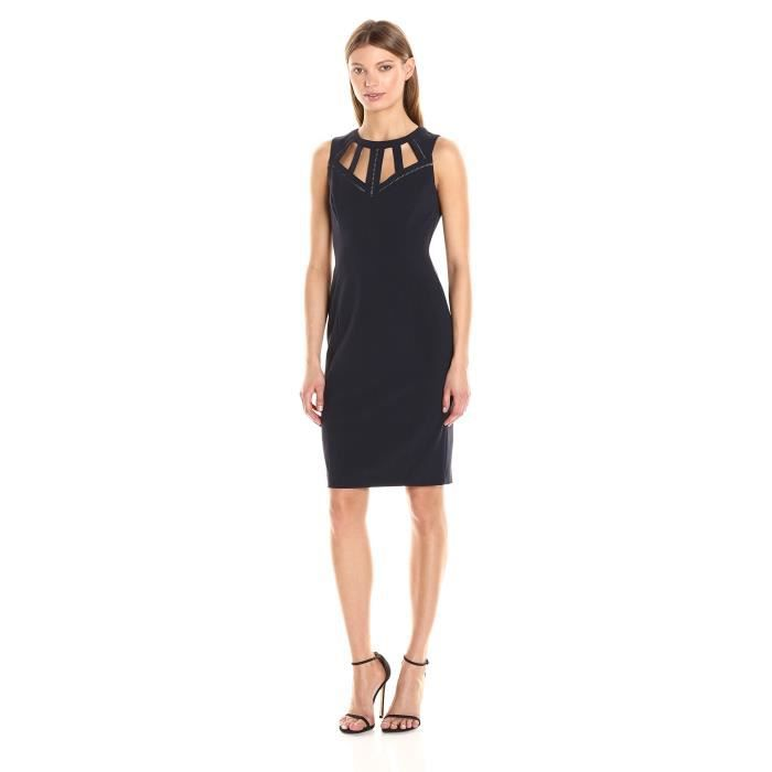 Vince Camuto Robe manches longues femme bodycon midi VY1DN