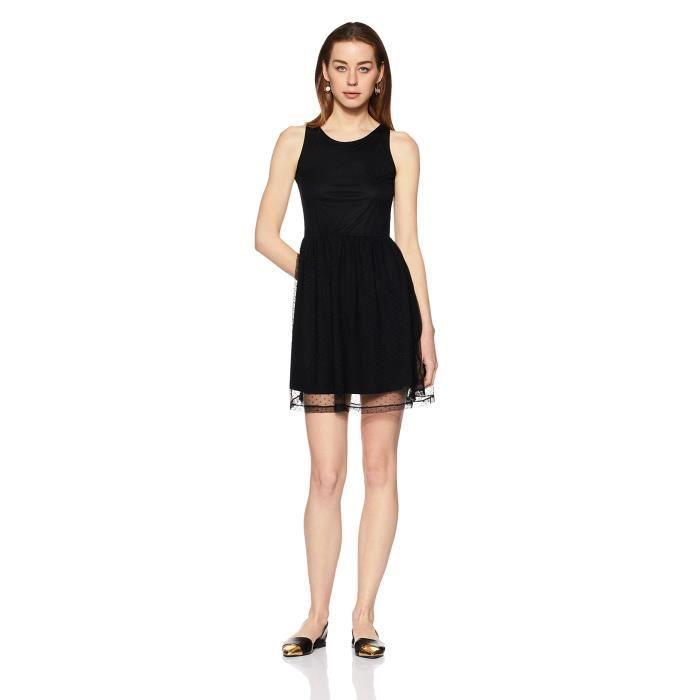 Bretelles en coton Mini robe de la femme 1U5QUY Taille-34