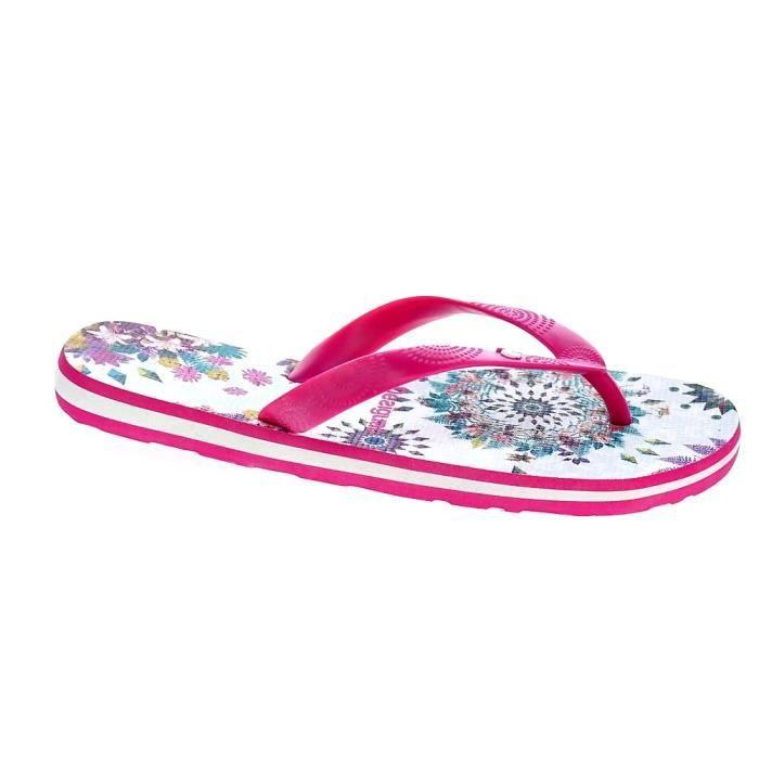 SANDALE - NU-PIEDS Tongs - Desigual Flip Flop Galactic  Femme  Violet