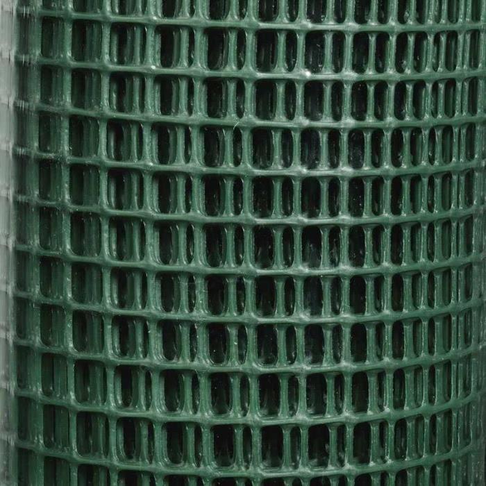Grillage plastique vert Taille 0,5 x 5 m - Achat / Vente clôture ...