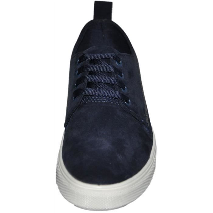chaussures sneakers homme Bleu
