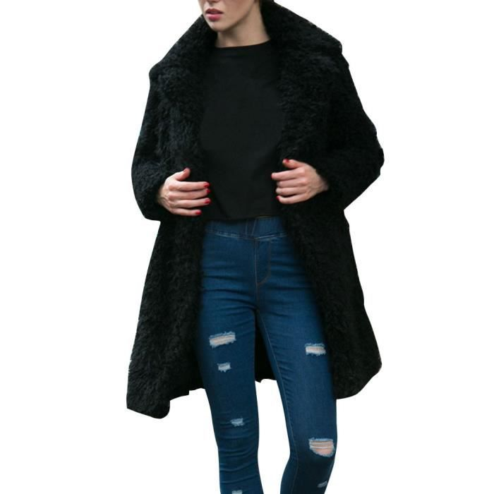 Hiver Veste Long Parka En Femmes Surdimensionné Chaud Vrac Manteau Outwear Whicloud Eg0qI
