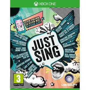 JEU XBOX ONE Just Sing Jeu Xbox One