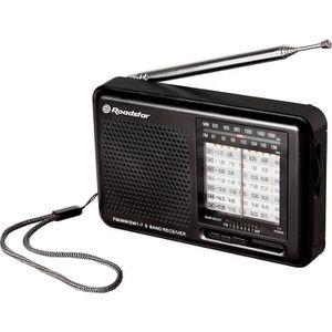 ROADSTAR TRA 2989 Radio De Voyage Multibandes Analogiques + Fréquence + Sortie Casque + Fonctionne Sur Pile/Secteur