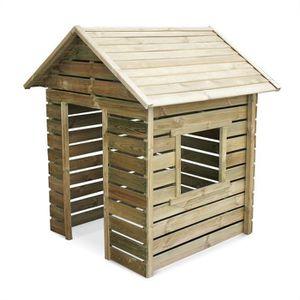 MAISONNETTE EXTÉRIEURE Maisonnette en bois FSC de 1,4m², Marguerite -  ca