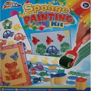 ROULEAU DE PEINTURE 20 pièces enfants éponge peinture rouleau rouleau