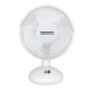 VENTILATEUR DAEWOO Ventilateur sur pied 1615CII Φ23 cm blanc