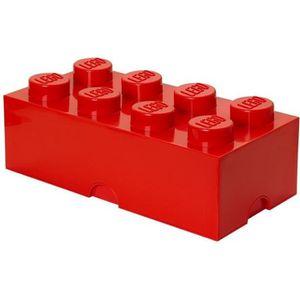 FLOCON DE MAÏS LEGO® 40041730  Brique de rangement - Rouge