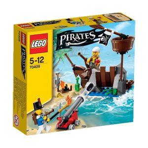 ASSEMBLAGE CONSTRUCTION LEGO Pirates 70409 La Défense du Radeau
