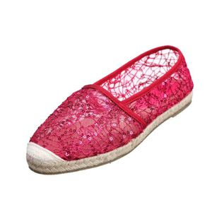 ESPADRILLE Espadrille femme Creamberry S E05 Rouge