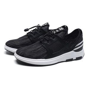 Basket Homme Chaussures de Multisport Masculines Respirante Noir GDNEka1bk