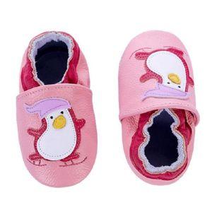 CHAUSSON - PANTOUFLE Chaussons bébé et enfant en cuir souple Chaussures ... 0562fb6dab57