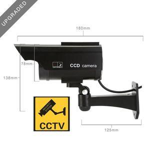 CAMÉRA FACTICE NONMOM 1*Fake Factice de Sécurité Caméra Dôme CCTV