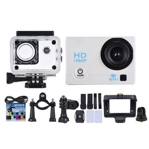 CAMÉRA SPORT WiFi Action Caméra 1080P 12MP Blanc Anti-Choc Etan