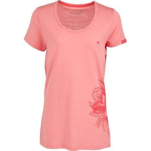 WANABEE Tee-shirt MC - Femme - Corail