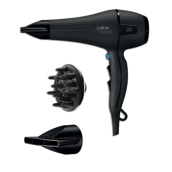 CALOR CV8730C0 Sèche-cheveux Ionoique Pro AC