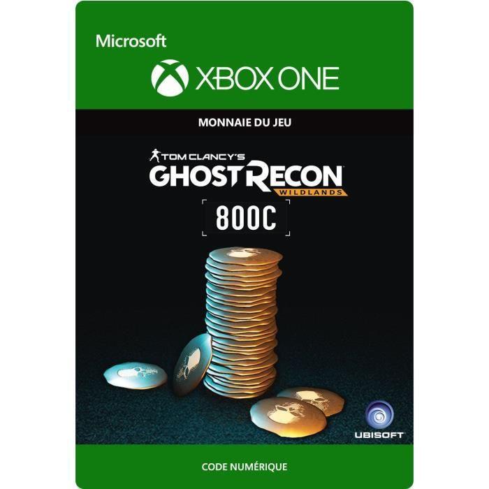 DLC Ghost Recon Wildlands: 800 GR Crédits pour Xbox One