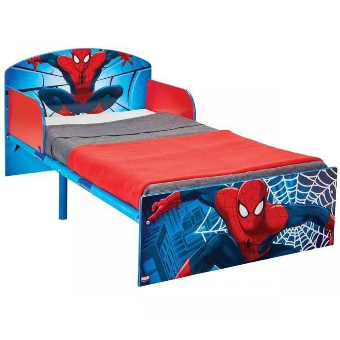 SPIDER-MAN Lit pour enfants HelloHome - 140 x 70 cm