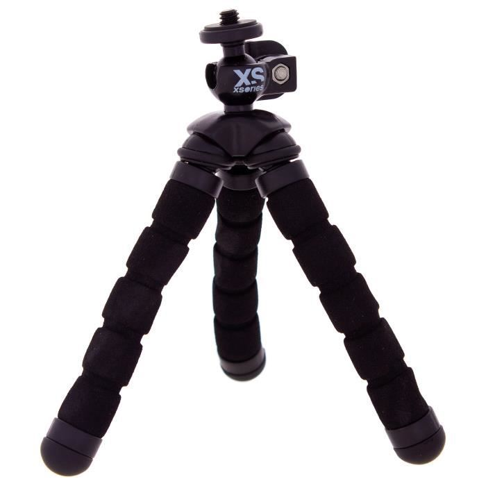 XSORIES Trépied articulé pour GoPro Mini Bendy - Noir
