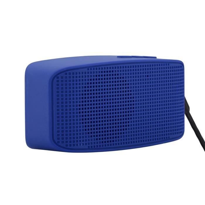 Portable Bluetooth Stéréo Sans Fil Audio Carte Sd Haut-parleur Dragonne Pour Samsung @bat7723