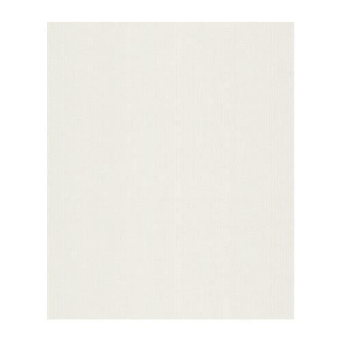 Papier Peint A Fines Rayures En Relief Blanc 10 M X 0 53 M Achat