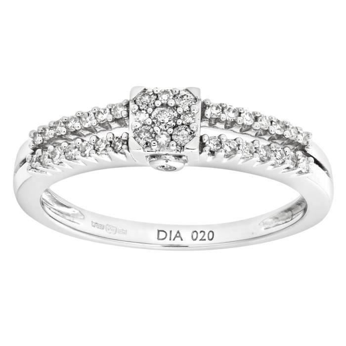 Assez Bagues Diamant - Achat / Vente pas cher - Cdiscount LU99