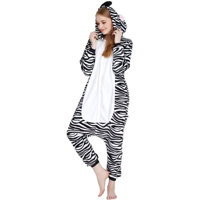 honofash pyjama combinaison animal cosplay costume onesie. Black Bedroom Furniture Sets. Home Design Ideas