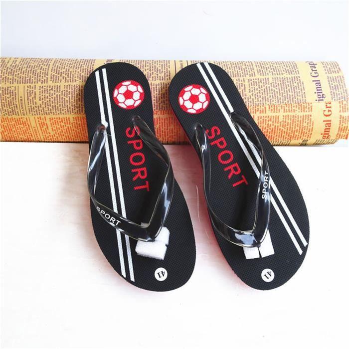 Tongs Sandale Homme Haut Qualité Hommes Sandales Printemps Et éTé Sandale RéTro Super Sandales Pour La Plage Plus Taille 40-44