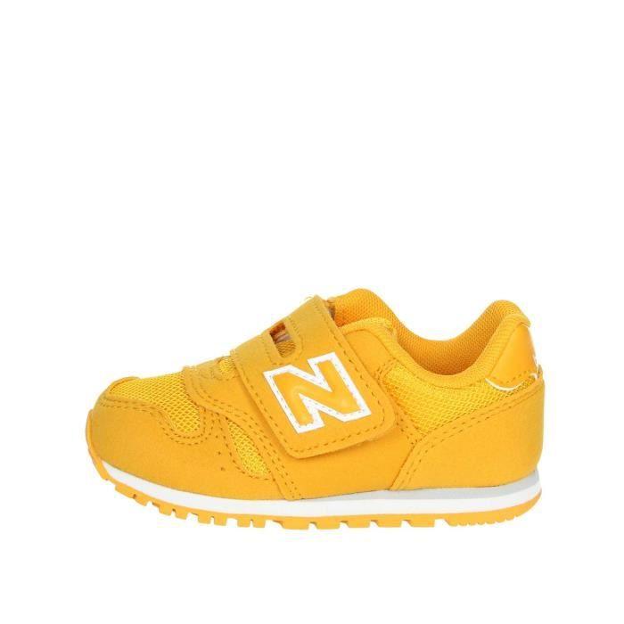 new balance garcon jaune