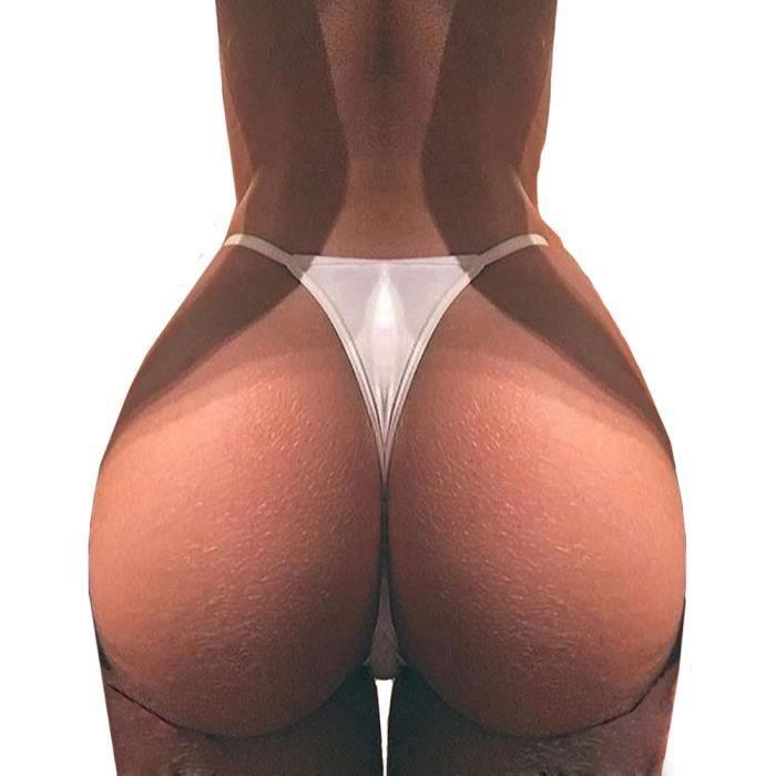 blanc Culottes Lingerie Thongs Femmes Slips G string Sans Corsaire Bandage Couture w4nwxt7BPv