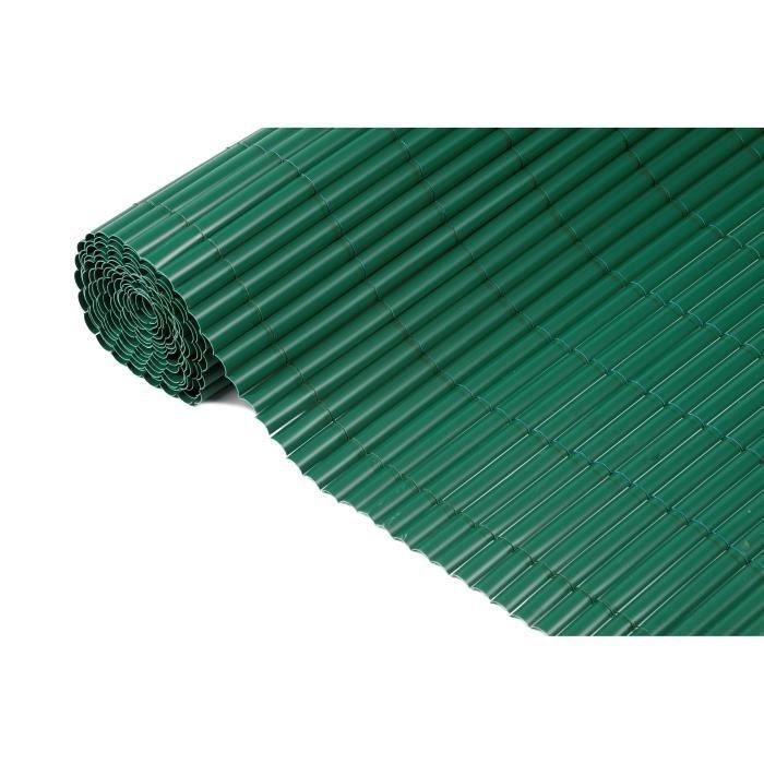 NATURE Canisse simple face en PVC 1,2x3m