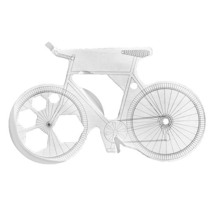 COUTEAU MULTIFONCTIONS THUMBSUP! Outil multifonction en forme de vélo
