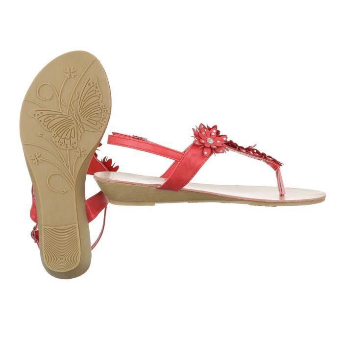 séparerrouge d'été chaussures plage de chaussure sandale l'orteil femme chaussures wPnaq4x