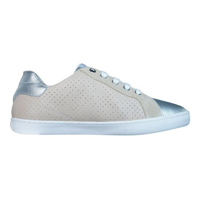Geox J Kiwi G Filles Baskets - Chaussures Beige 2.5