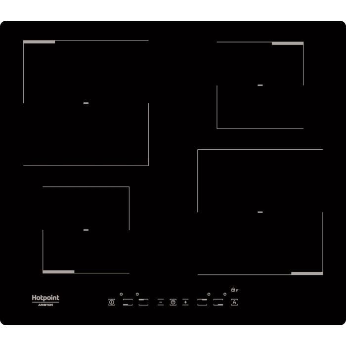 HOTPOINT HKIA640C - Table de cuisson - Induction - 4 zones - 7200W ...