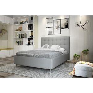 lit adulte sans sommier achat vente lit adulte sans sommier pas cher cdiscount. Black Bedroom Furniture Sets. Home Design Ideas