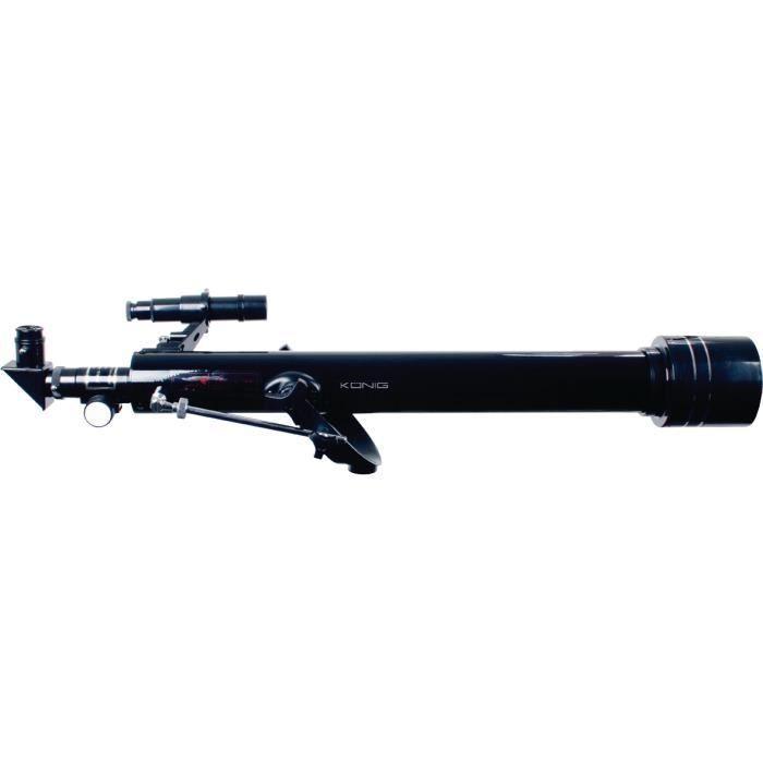 TÉLESCOPE OPTIQUE KONIG KN-SCOPE40N Télescope 60 mm - Noir et Argent